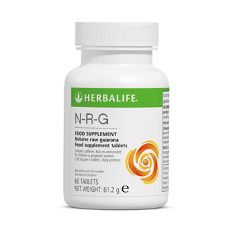 Herbalife Nature's Raw Guarana Tablets - NRG