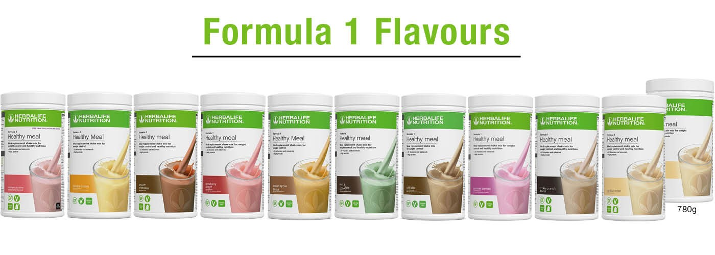 Herbalife Formula 1 now in 10 flavours