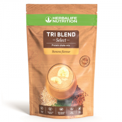 Tri Blend Select - Protein shake mix Banana Flavour - 600 g