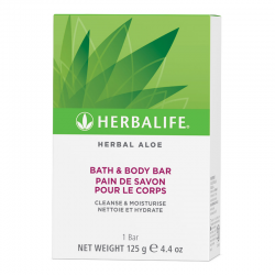 Herbal Aloe Bath & Body Bar 125g