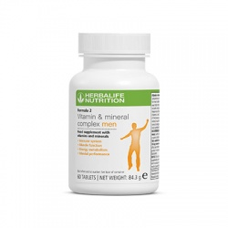 Herbalife Formula 2 Multivitamin Complex MEN
